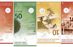 New Swiss Banknotes by Manuela Pfrunder